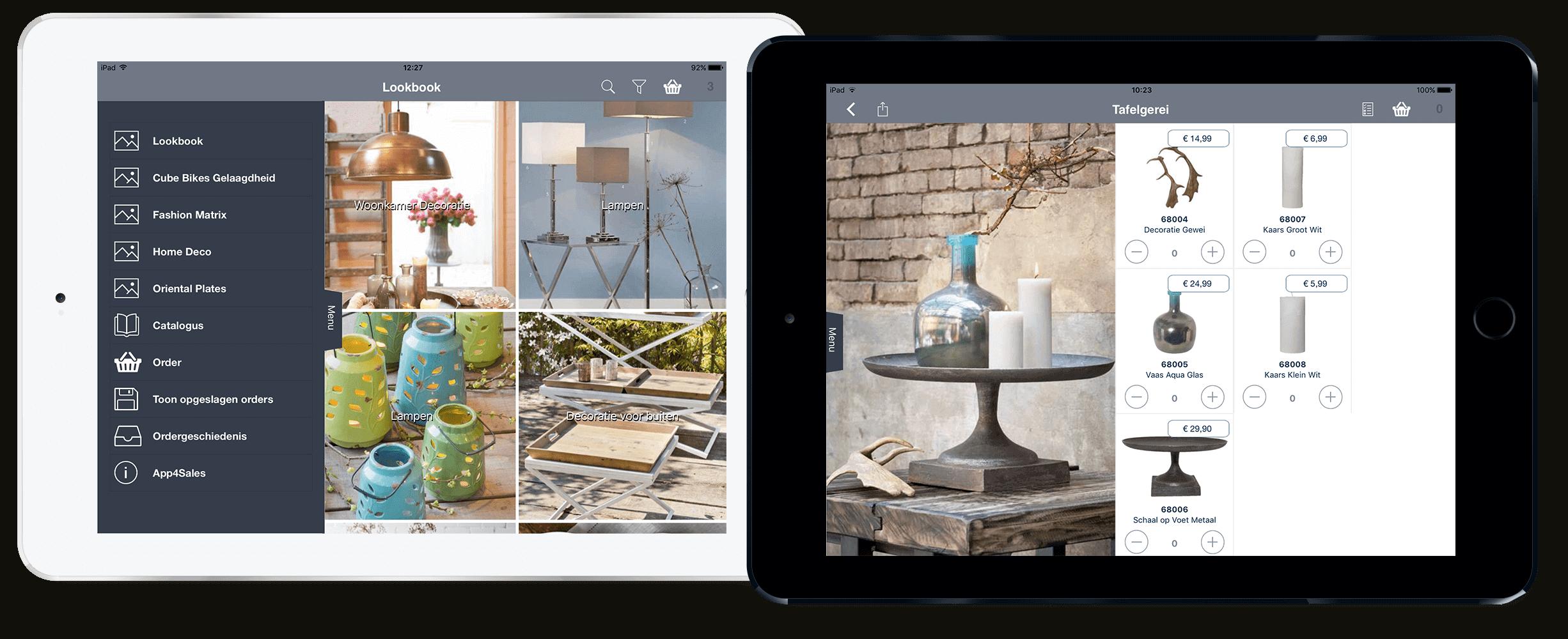 Met de Mobile Sales app eenvoudig producten verkopen