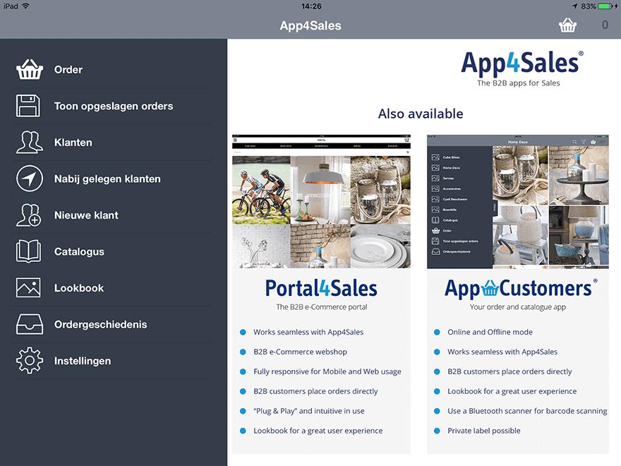 App 4 Sales Training Installatie