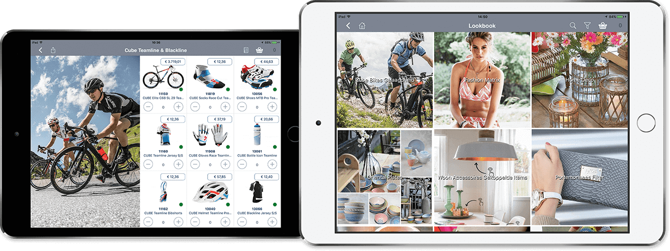 App4Sales Lookbook iPad