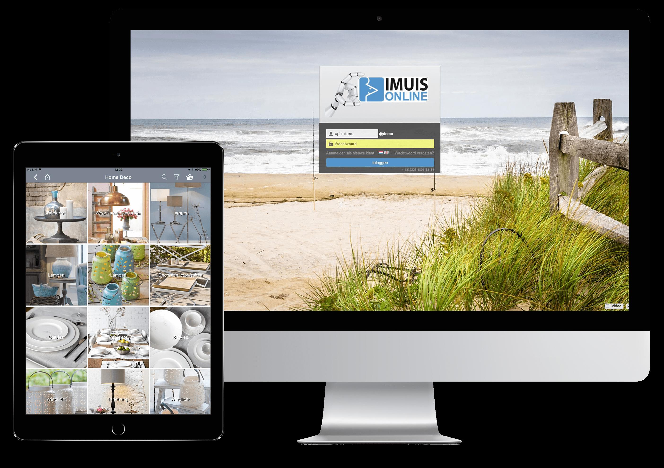 App4Sales iMuis iMac Tablet