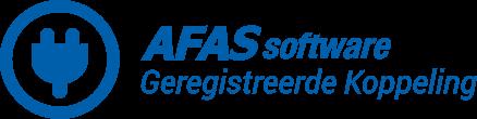 Geregistreerde AFAS koppeling logo