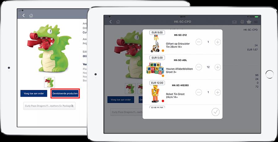 App4Sales gerelateerde producten iPad