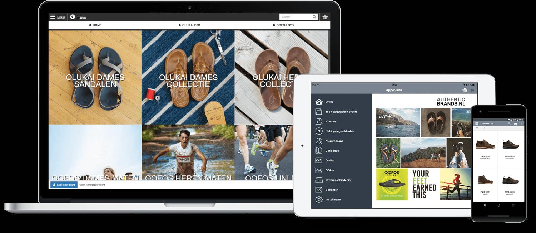 Authentic Brands App4Sales Platform