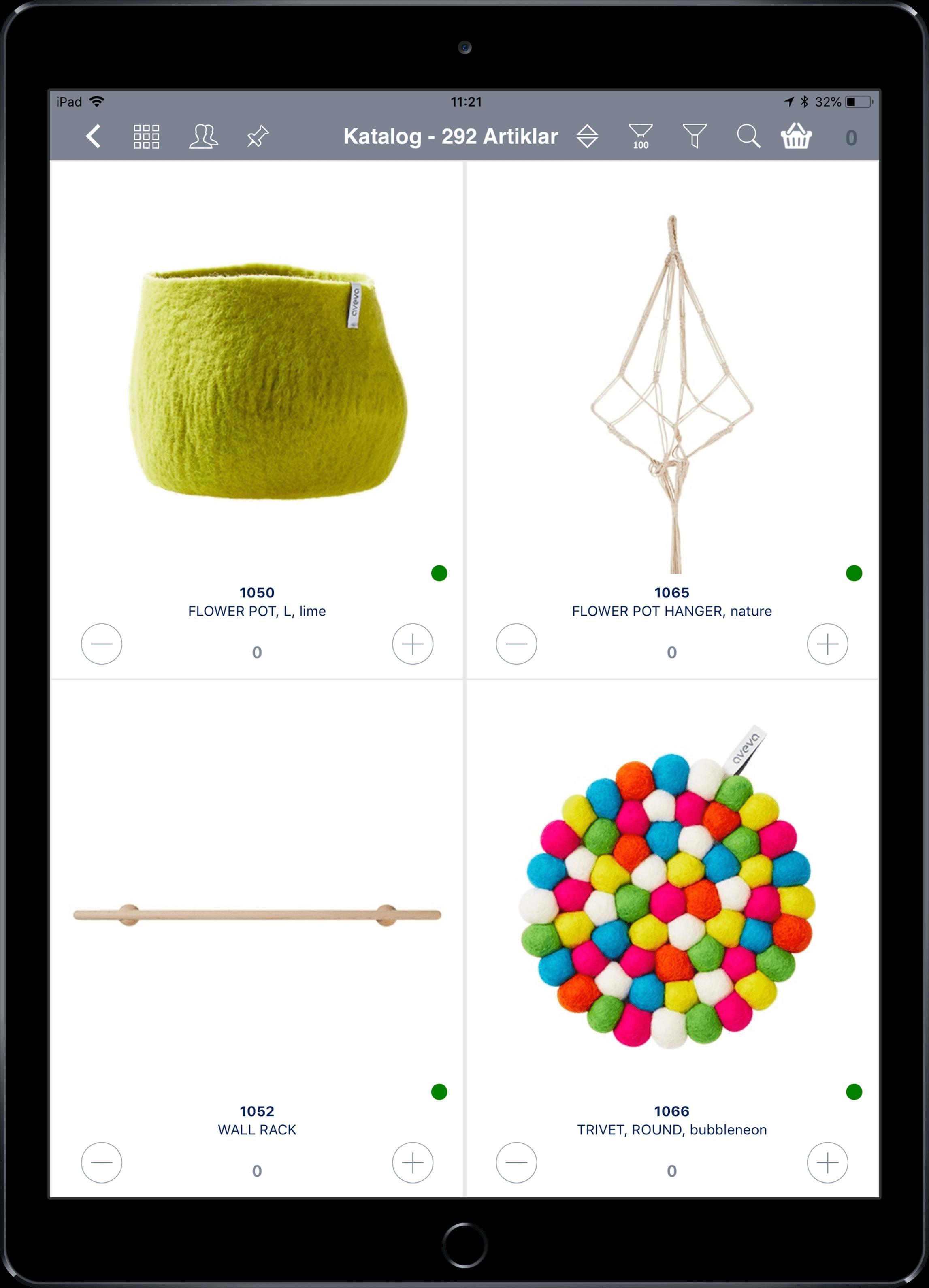 App4Sales lookbook catalogue Aveva Design AB