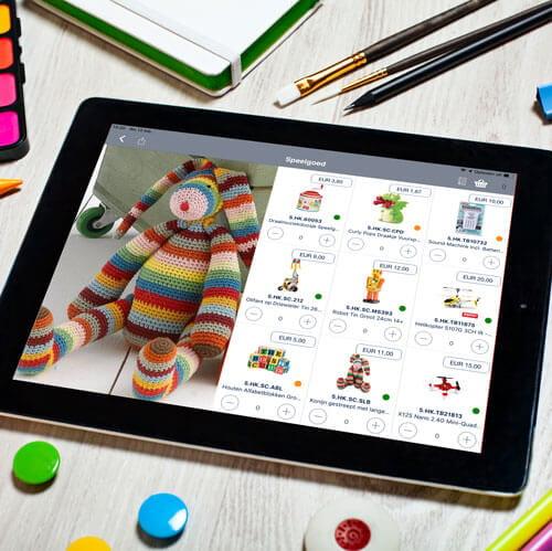 legetøjsindustrien salgsapp